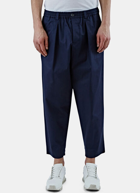 Drawstring Straight Leg Pants