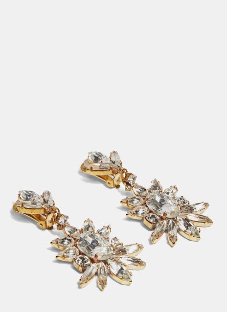 Spirituals Crystal Pendant Earrings