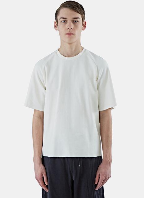 Boxy Woven T-Shirt