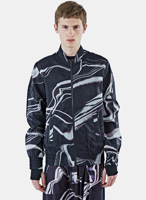 Airmesh Lightning Print MA-1 Jacket