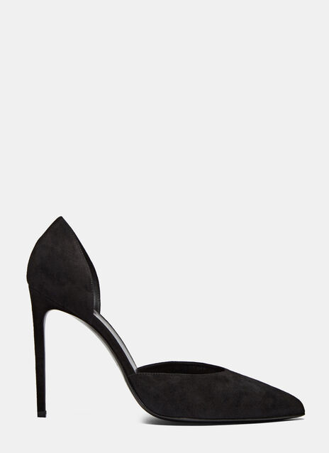 Paris Suede Heeled Pumps