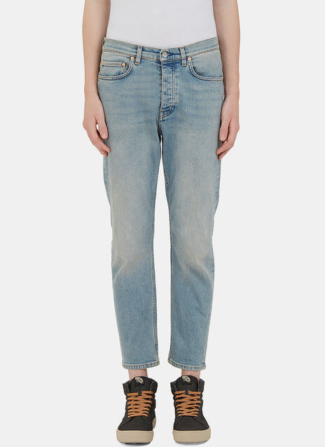 Town Dirty Cropped Leg Jeans