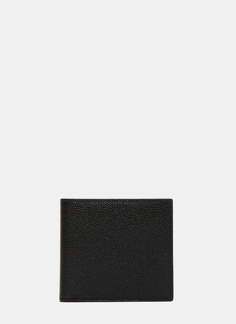 Billfold Pebbled Leather Wallet