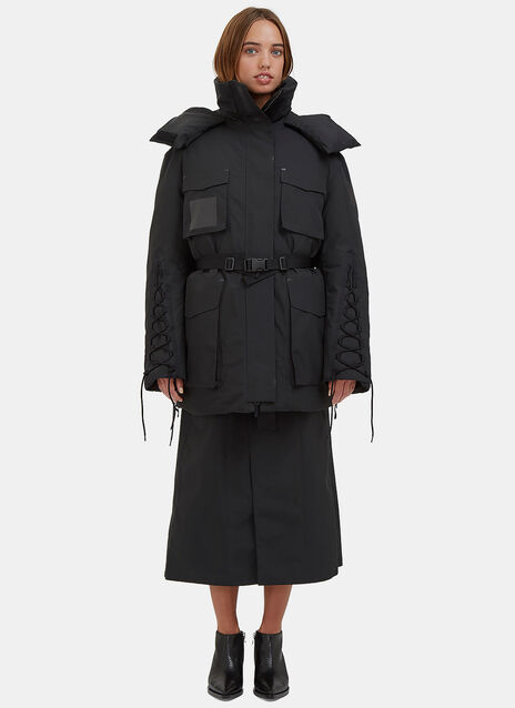 Oversized KTC Padded Snow Parka Coat