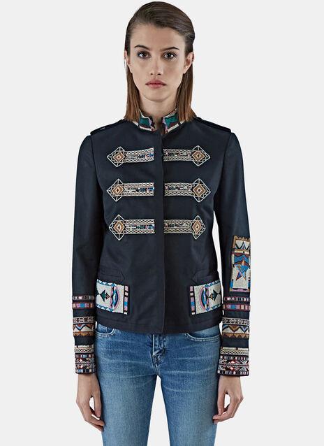 Beaded Pattern Jacket