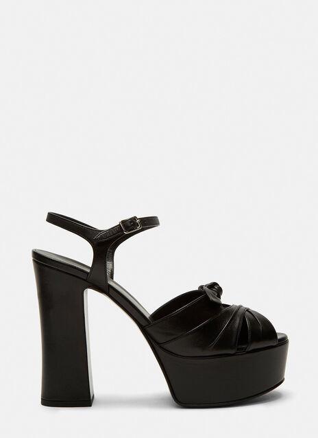 Candy 80 Bow Platform Sandals