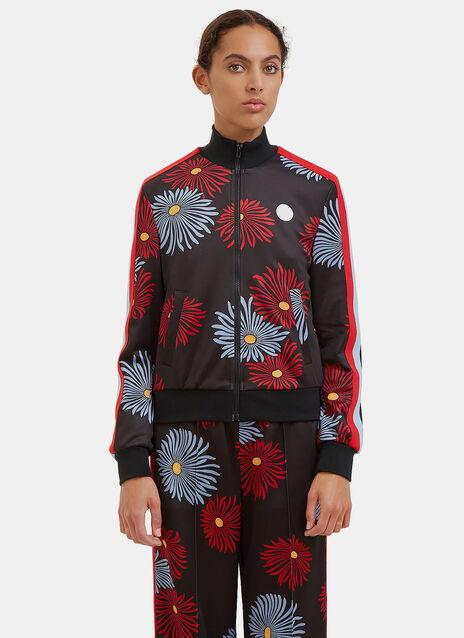 Floral Print Track Jacket