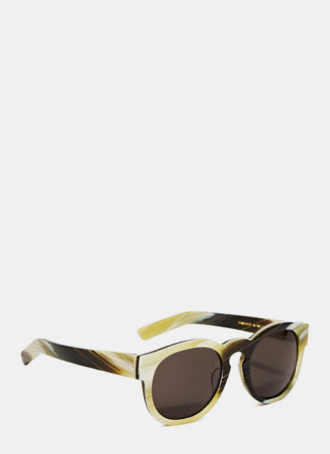 LARKE Gill Horn Sunglasses