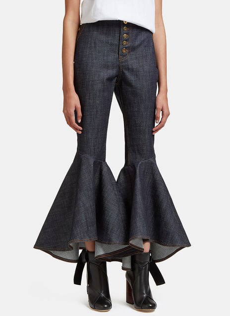 Hysteria Cropped Flare Jeans
