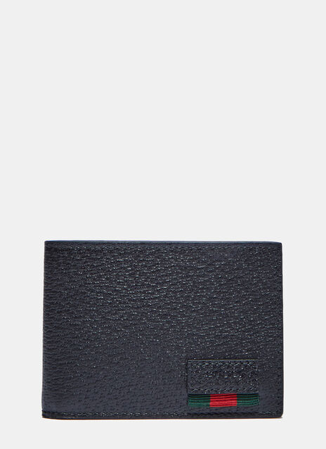Textured Dollar Ribbon Basic Fold Wallet