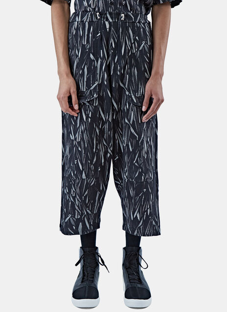 Graphic Print Track Pants