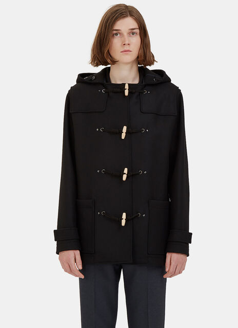 Short Wool Duffle Coat