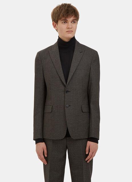Stanley Checked Blazer Jacket