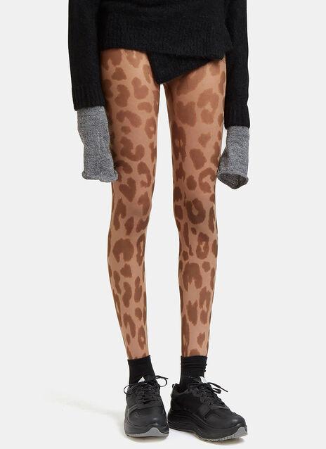 Kanne Leopard Print Leggings