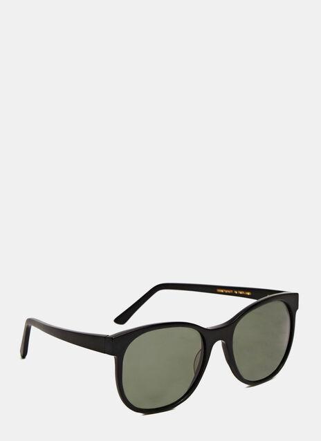 Larke Horne Matt Black Sunglasses