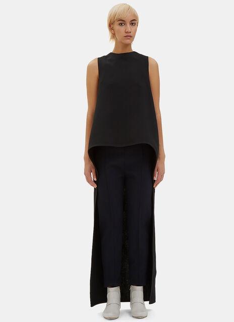 Long Cut-Out Sleeveless Dress