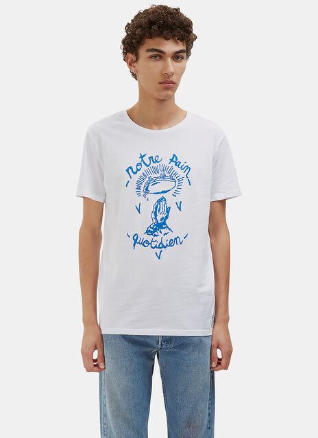 Notre Pain Quotidien Crew Neck T-Shirt