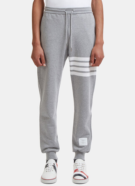 4 Bar Jersey Track Pants