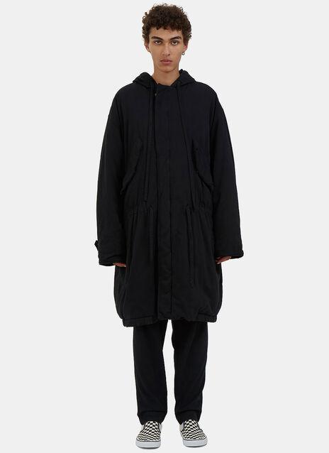 Oversized Padded Parka Coat