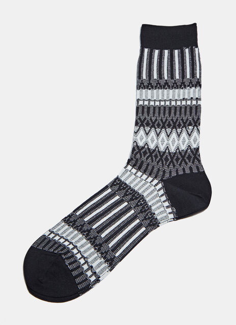 C53 ICHI Stripe Socks