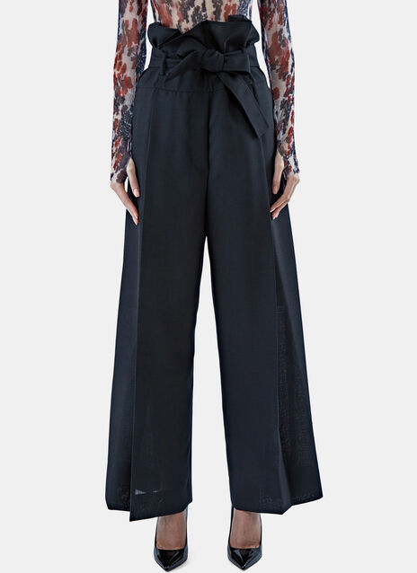 High-Waisted Wide Leg Pants