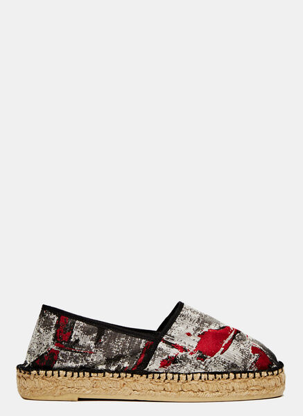 Image of Aganovich Printed Espadrilles
