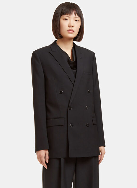 Double-Breasted Tuxedo Jacket
