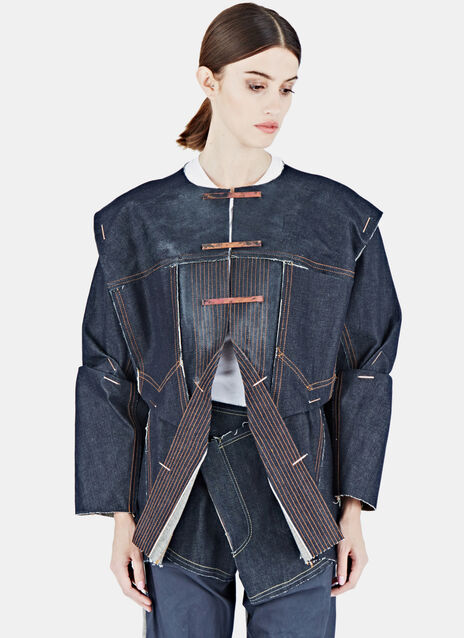 Heavy Top-Stitch Denim Jacket