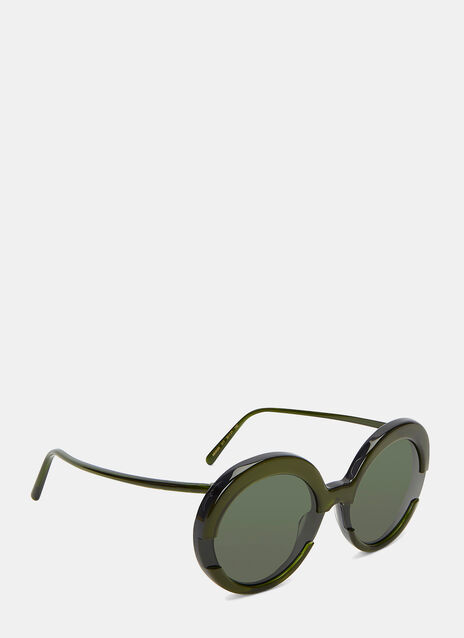 Retro Round Sunglasses