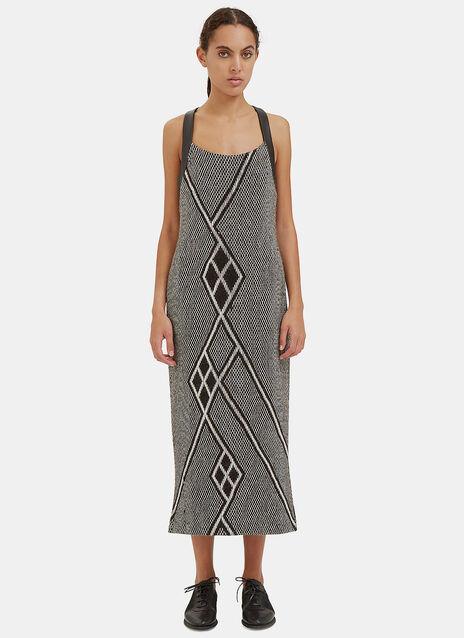 Long Racerback Knit Dress