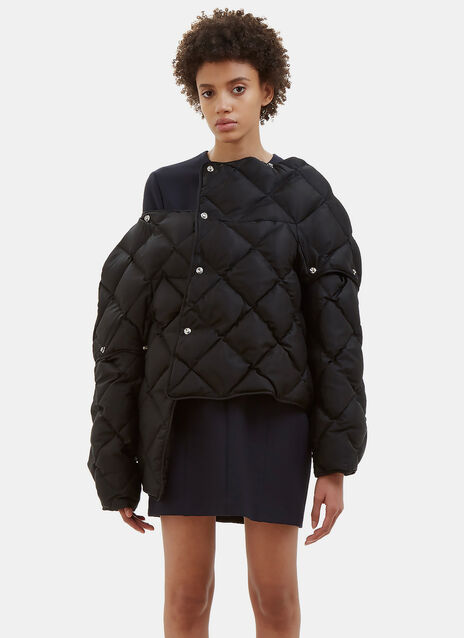 Bobbi Diamond Quilted Puffer Jacket