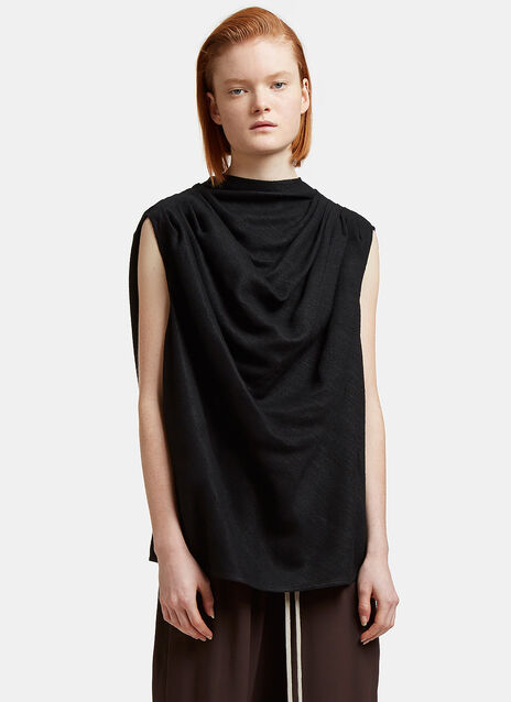 Claudette Oversized Draped Top