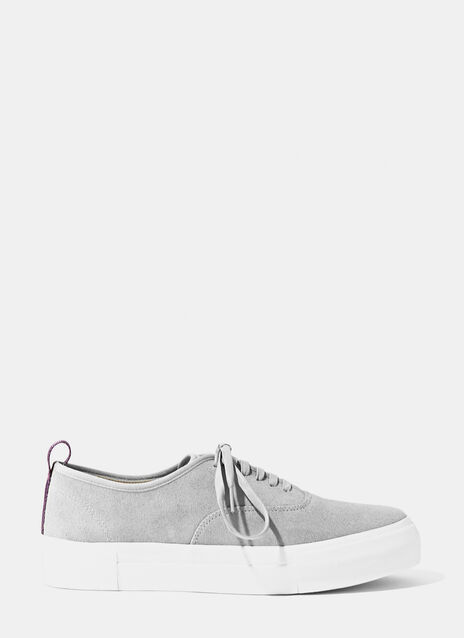 Mother Suede Grey Sneaker