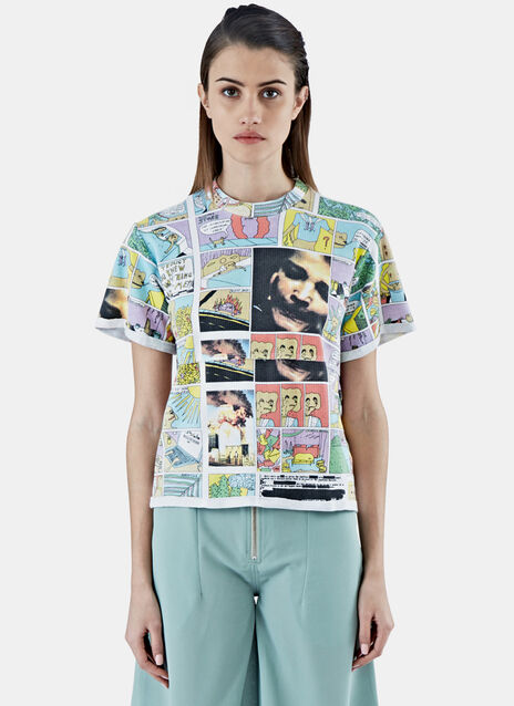 Comic Lapped Crew Neck T-Shirt