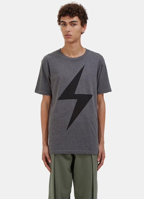 Lightning Bolt Crew Neck T-Shirt