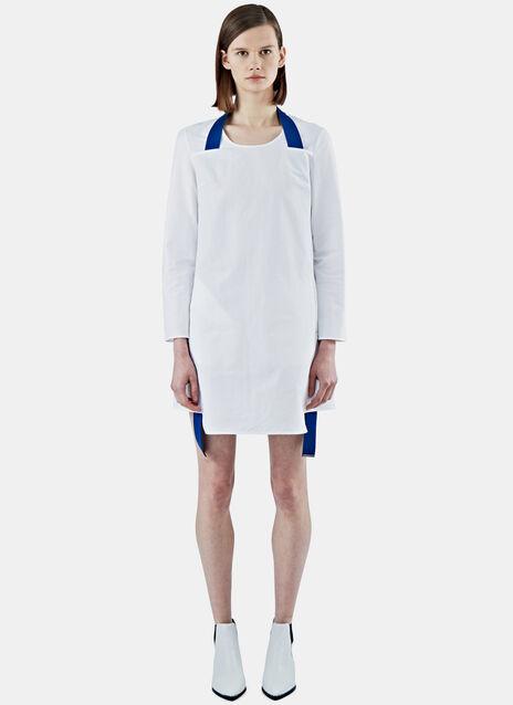 Rahima Poplin Contrast Strap Dress