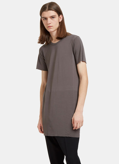 Basic Long Slim Short Sleeved T-Shirt