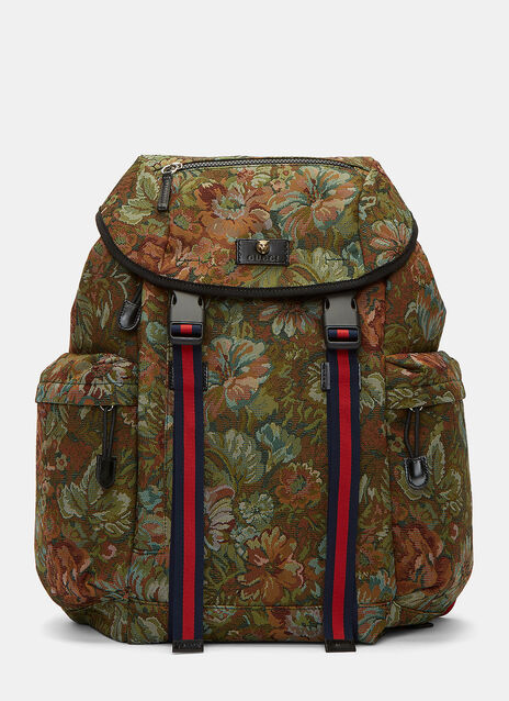 Zaino Floral Brocade Backpack