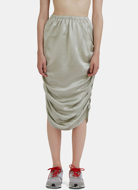 Mid-Length Nador Ruched Skirt
