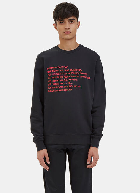 Our Enemies Crew Neck Sweater