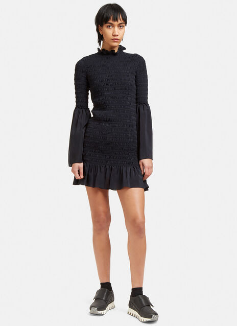 Kate Ruched Frill Dress