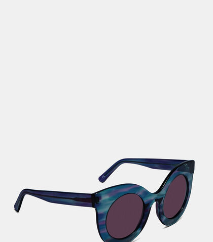 Women's Millicent Oversized Marbled Sunglasses