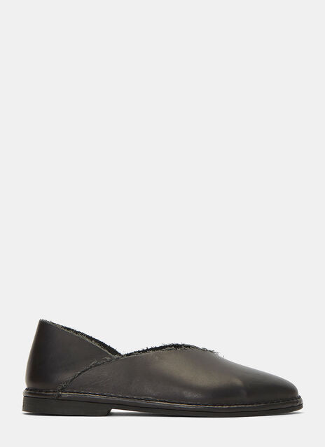 Patti Slip-On Leather Shoes