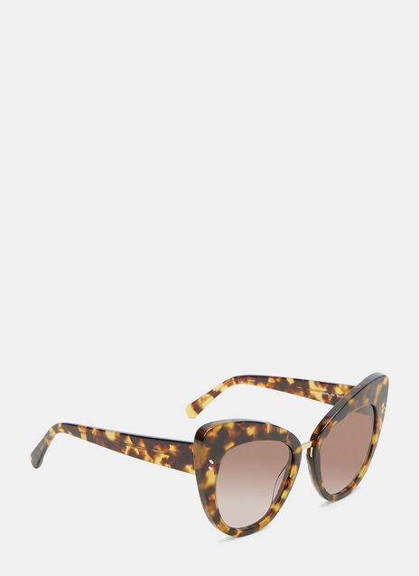 Oversized Cat Eye Tortoiseshell Sunglasses