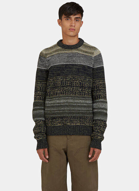 Kai Multi Yarn Crew Neck Sweater
