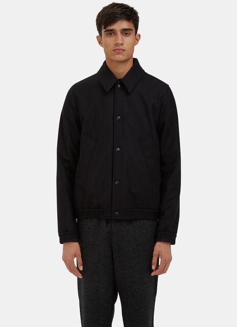 Felted Wool Coach Jacket