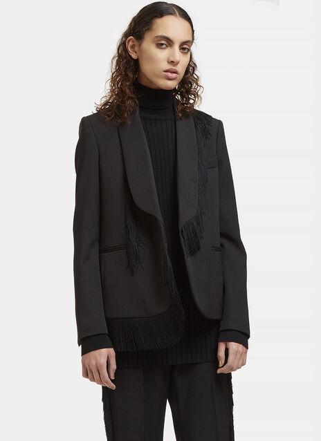 Fringed Blazer Jacket