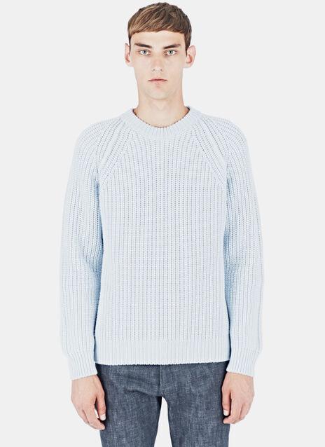 Thick Knit Stitch Cashmere Sweater