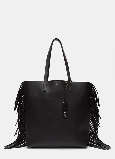 Fringed Shopping Tote Bag