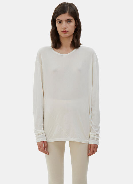Vellum Long Sleeved Top